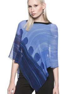 Silk Poncho Silhouettes