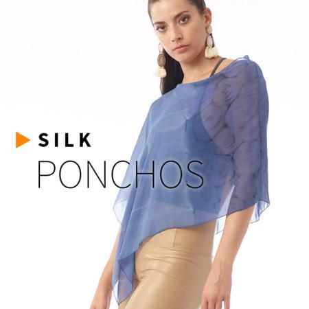 Silk Ponchos